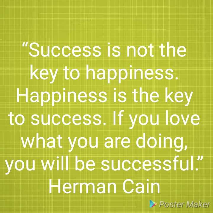 Success Quotes For Students: Success Quotes For Students By Hermain Cain